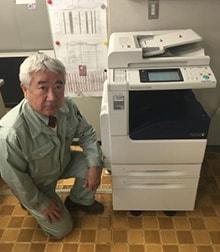 S社様(練馬区)ご導入 : Fuji Xerox DocuCentre-V C2263 PFS