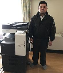 M社様(北海道)ご導入 : [施工事例No.377]KONICA MINOLTA bizhub C227