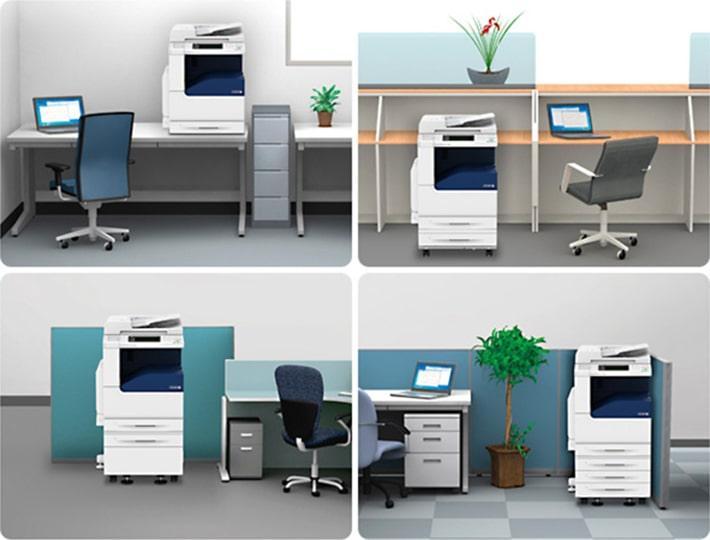 様々な設置スペースに柔軟に応えます