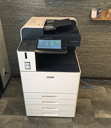 T社様(東京都)ご導入 : [施工事例No.448]Fuji Xerox ApeosPort C2570